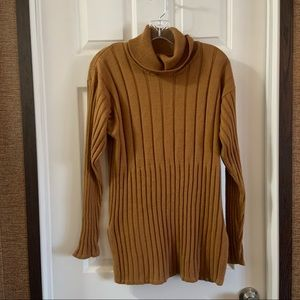 Ralsey Orange-Brown Cowl Neck Longsleeve Sweater M